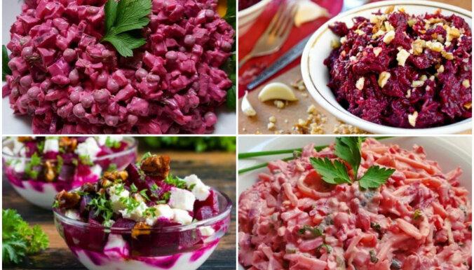 Ar sieru, zirnīšiem vai avokado: 17 sātīgi biešu salāti bez gaļas