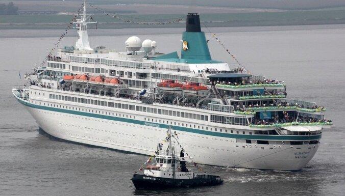 Вентспилс впервые посетит круизный лайнер Albatros