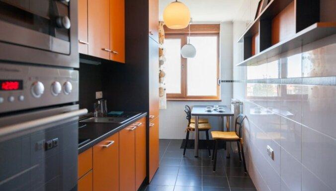 Astoņi skaisti un praktiski ēdamzonas varianti nelielām virtuvēm