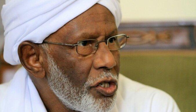 Sudanā miris opozīcijas islāmistu līderis Turabi