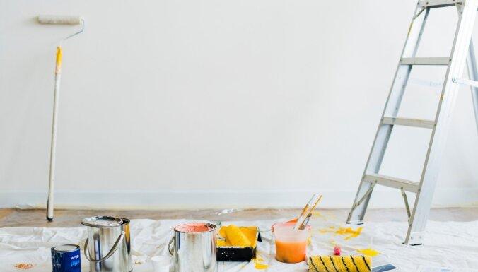 Noderīgi: četri viedi padomi tiem, kuri plāno remontu