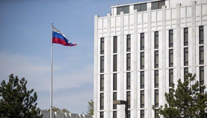 Latvija apliecina solidaritāti 'ASV apņēmīgajai rīcībai par jaunām sankcijām pret Maskavu'