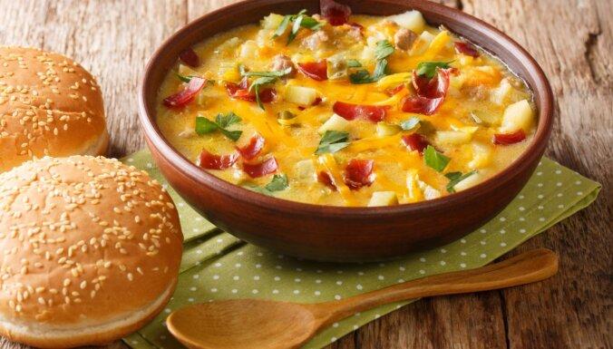 Čīzburgera zupa amerikāņu gaumē