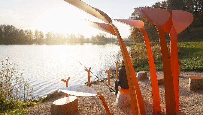 За воскресенье вода в реках и озерах Латвии прогреется до +24 градусов