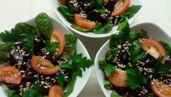Полезный свекольный салат