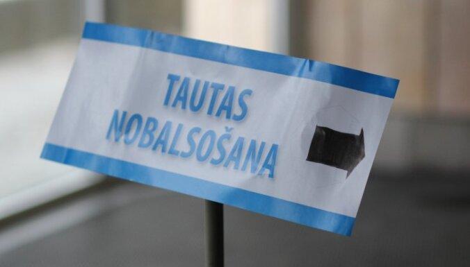 """За """"референдум по негражданам"""" в основном подписались в Риге"""