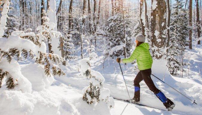 Бросаем все, встаем на лыжи: Составлен самый полный список лыжных трасс в Латвии