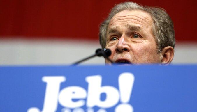 Džebam Bušam ir 'stipra un stabila roka' prezidenta amatam, paziņo brālis Džordžs