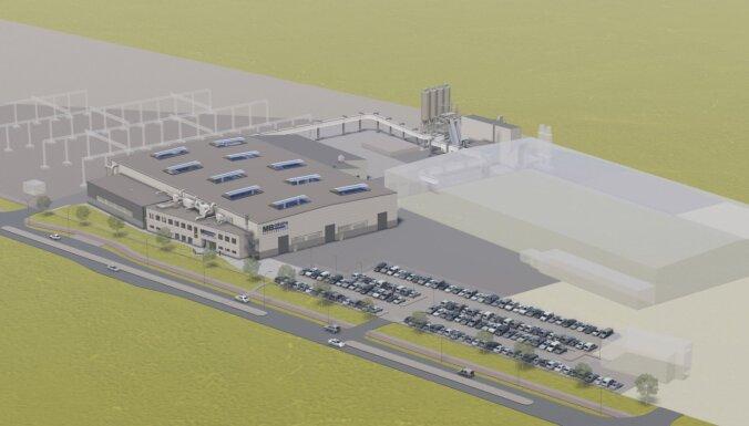 UPB инвестирует 11 млн евро в строительство нового завода в Лиепае