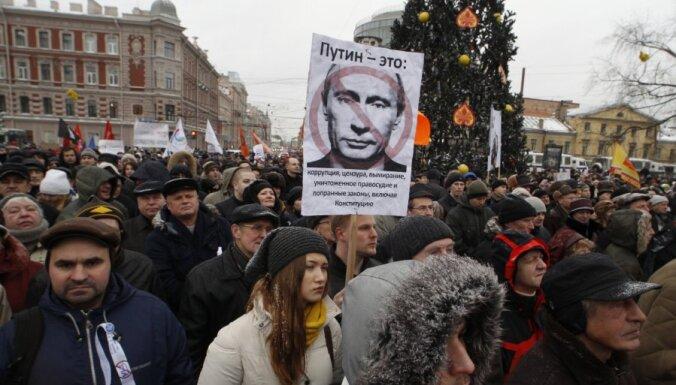 Krievijas opozīcija 4.februārī plāno kārtējo protesta akciju
