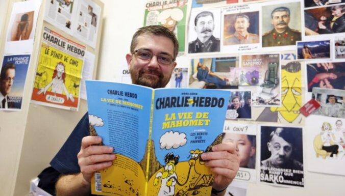 Francijas satīras žurnāls publicējis komiksu par pravieti Muhamedu