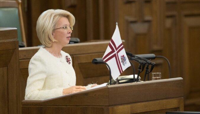 По просьбе Мурниеце Сейм почтил минутой молчания экс-депутата и легионера Лациса