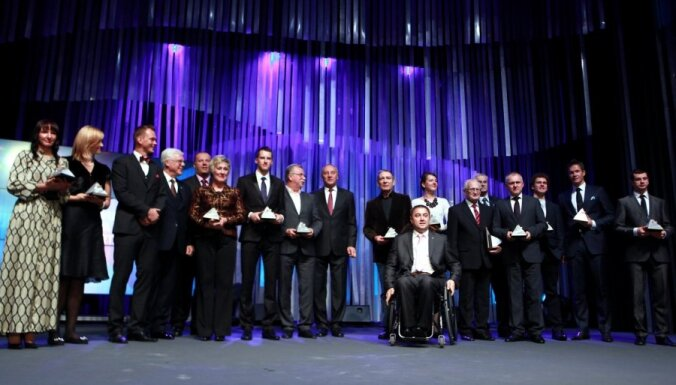Latvijas Gada labākos sportistus paziņos Ziemassvētku priekšvakarā