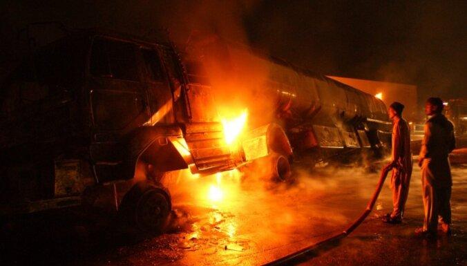 Polijā sociālās mājas ugunsgrēkā sadeguši septiņi cilvēki, tostarp bērni