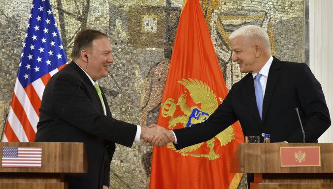 Помпео одобрил позицию Черногории в отношениях с Россией