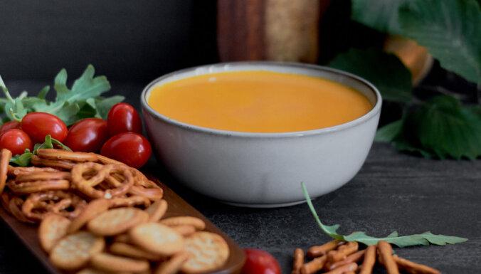 Traki gardā siera mērcīte ar alu un ķiplokiem