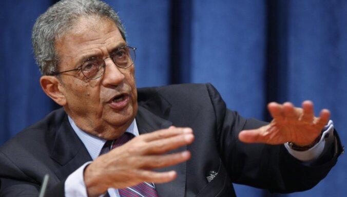Arābu līgas ģenerālsekretārs kandidēs uz Ēģiptes prezidenta amatu