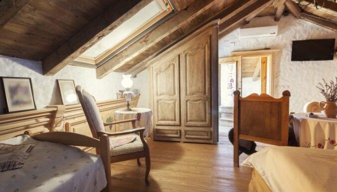 ФОТО. В закладки: Спальня в деревянном доме — 27 идей