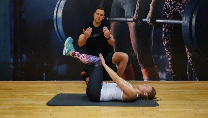 ВИДЕО. Упражнения для снятия боли в спине