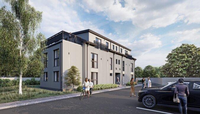 Nekustamo īpašumu attīstītājs 'ZTZ' Ķīpsalā būvē daudzdzīvokļu ēku