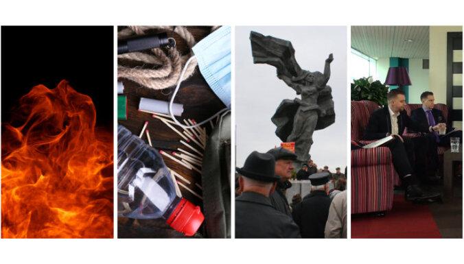 19 марта. Трагический пожар в Даугавпилсе, обеспечение на случай войны, права на мероприятия 16 марта и 9 мая