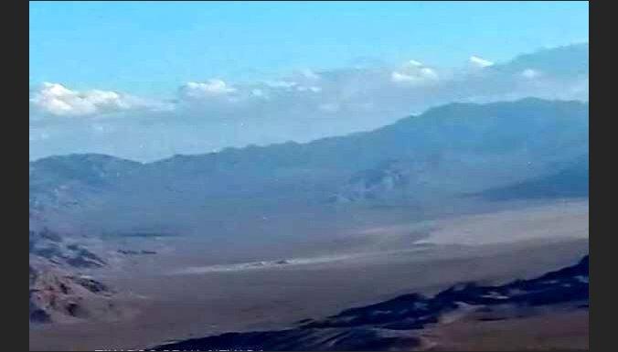 Drons nofilmē vienu no slepenākajām vietām uz planētas - 'Area 51'