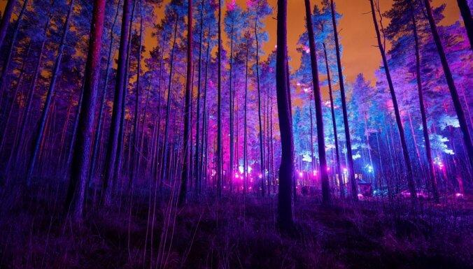 Saīsina svētku izgaismojuma eksponēšanas laiku Rīgas apkaimju parkos