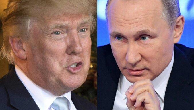 Krievija pieņem, ka Tramps un Putins tiksies G20 samitā, pauž Lavrovs