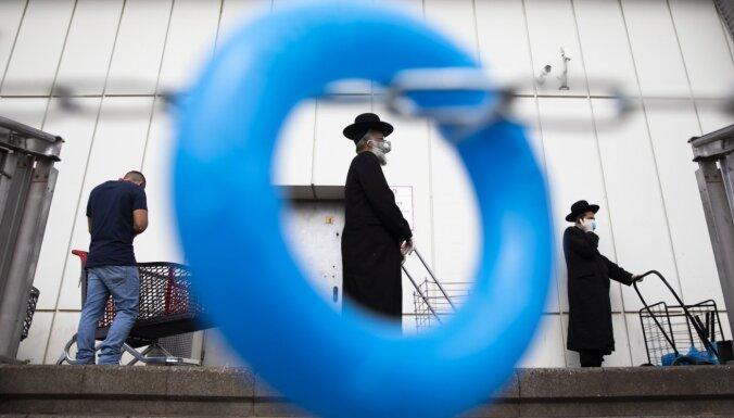 Covid-19: Izraēlā publiskās vietās obligāti būs jāvelk sejas maskas