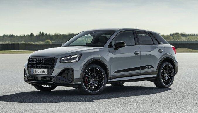 'Audi' atjauninājis mazo apvidnieku 'Q2'