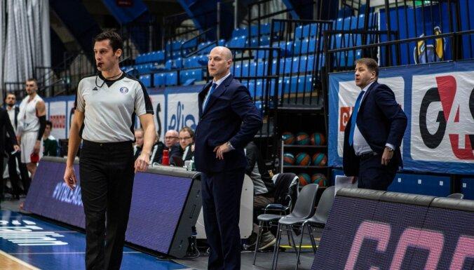 Latviešu pārstāvētais Tallinas 'Kalev' tukšā zālē piekāpjas 'Lokomotiv'