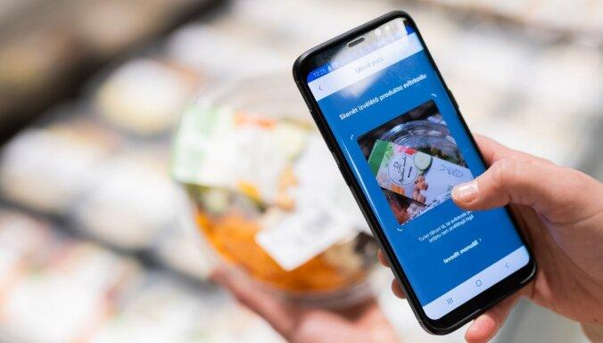В Maxima товары можно оплатить, отсканировав смартфоном: пока возможность внедрена только в одном супермаркете