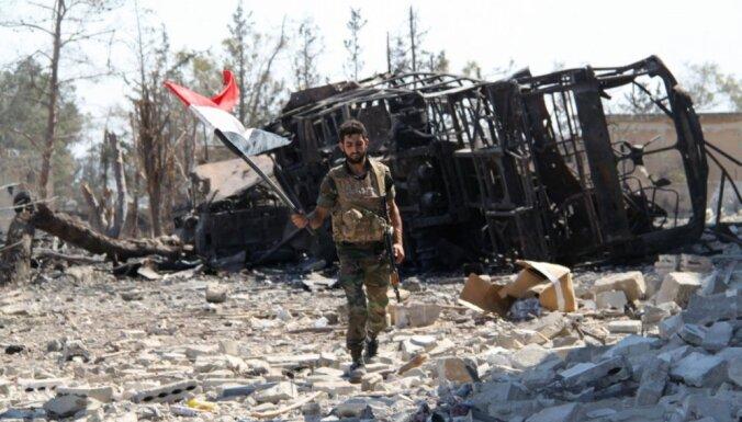 Sīrijas armija atguvusi Alepo dienvidu rajonu