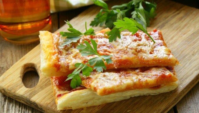 Kārtainās mīklas pica