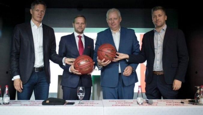 Tallinā parakstīti apvienotās Latvijas-Igaunijas basketbola līgas dibināšanas dokumenti