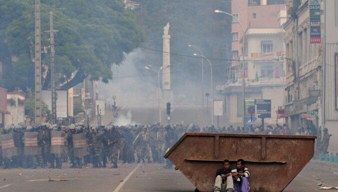 Gvinejā-Bisavā izjaukts valsts apvērsums