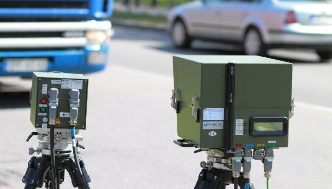 Policija veic izmeklēšanu par vairākiem pēdējā laikā notikušiem incidentiem saistībā ar fotoradariem