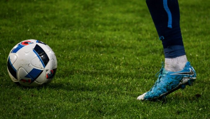 RFS futbolisti iesit sešus vārtus 'Spartakam' un svin sezonas graujošāko uzvaru