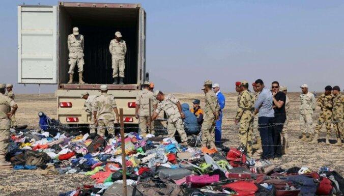 Kairā sākta avarējušās Krievijas lidmašīnas 'melno kastu' atšifrēšana