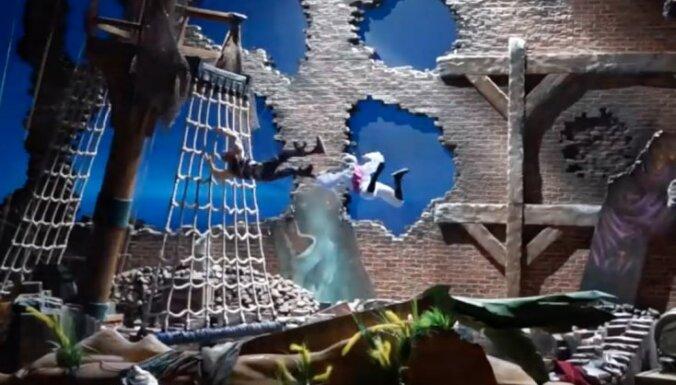 'Aerodium' uzbūvējis vēja tuneli pasaulē lielākās Disnejlendas šovam