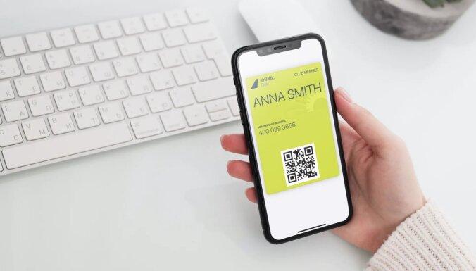 airBaltic отказывается от использования пластиковых карт airBaltic Club и PINS