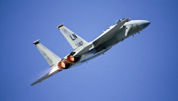 В Северном море разбился американский истребитель F-15
