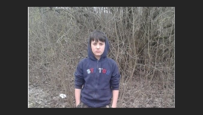 Bauskas novadā pazudis 12 gadus vecs zēns