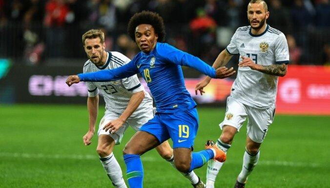 Сборная России впервые в истории разгромлена дома — 0:3 от бразильцев