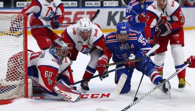 Video: 'Lokomotiv' – SKA. Aizvadīta viena no skarbākajām KHL 'play off' spēlēm