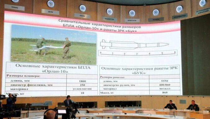 MH17 notriekšana: Krievija publisko jaunus datus, kas apgāž pašas apgalvojumus