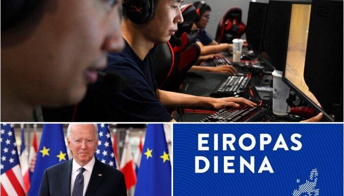 Eiropas diena: Spēcīgāki kiberdrošībā un draudzībā ar ASV