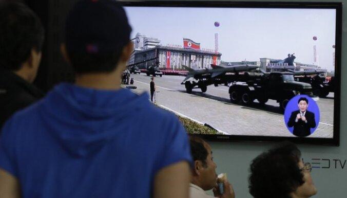 Ziemeļkoreja palaidusi vēl vienu raķeti
