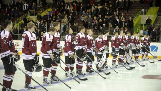 Latvijas hokeja izlase atkārtoti uzņem Čehijas valstsvienību