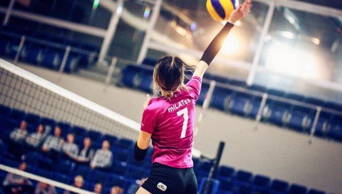 Latvijas volejbolam komandām Baltijas sieviešu līgas spēlēs piecas uzvaras pār lietuvietēm